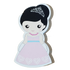 C&F Wooden Princess with Tiara Character