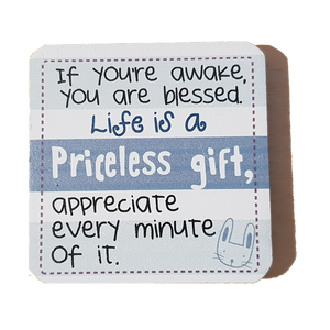 C&F Wooden Quote Magnet - If You Are Awake