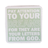 C&F Wooden Quote Magnet - Pay Attention To Your Dreams