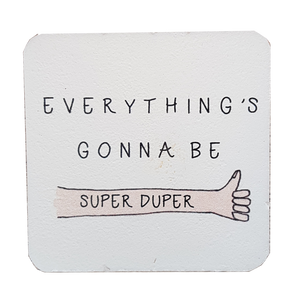C&F Wooden Quote Magnet - Super Duper