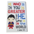 C&F Wooden Superman Quote Plaque