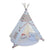 PETIT Geometry Pattern Teepee With Mat and Lights