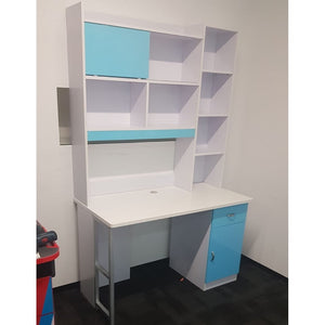 HB Rooms Light Blue Study Table (DISPLAY SET)