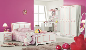 HB Rooms Classic Pink Bedside Table (960#)