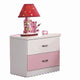 HB Rooms Flower Bedside Table (870)