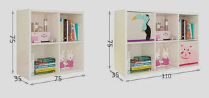 FIJN Grid Bookshelf w/o Storage Cubes (Various Configurations)