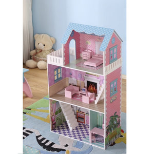 FIJN Blue Roof Dollhouse