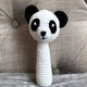 May's Hand Panda Lunar Long Rattle Crochet