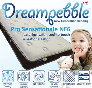 Dreampebble Pro Sensationale NF6 Mattress (UP:$799 for single)