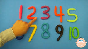 Playdough Numbers