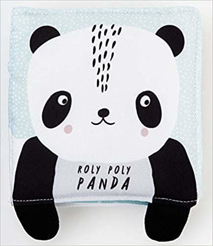 Wee Gallery // Soft Cloth Book - Panda - Baby and the Gang