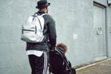 TIBA + MARL - ELWOOD BACKPACK SILVER