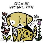 Wee Gallery Bath Book: Who's loves Pets? - Baby and the Gang