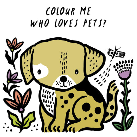 Wee Gallery Bath Book: Who's loves Pets?