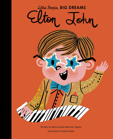 Elton John by Little People, Big Dreams (Hardback) - Baby and the Gang