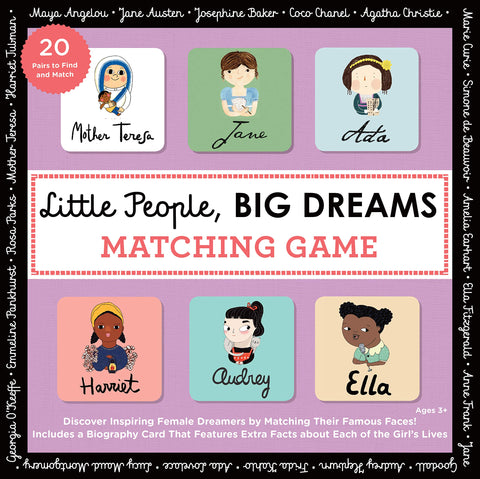 Little People, Big Dreams // Matching Game