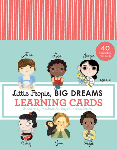 Little People, Big Dreams //  Learning Cards