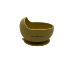 Baby and the Gang Silicone Suction Bowl // Mustard - Baby and the Gang