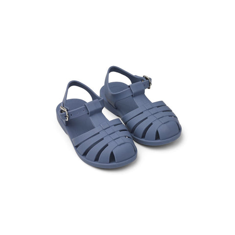 Liewood // Bre Sandal // Blue Wave - Baby and the Gang