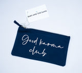 Navy Good Karma Bag
