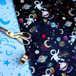 Eleanor Bowmer // Spaceman Gift Wrap
