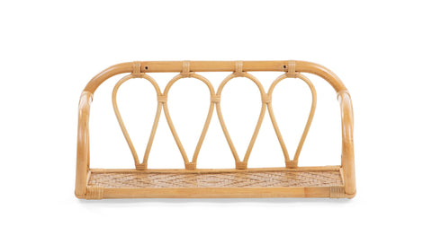 Childhome // Rattan Wall Shelf - Baby and the Gang