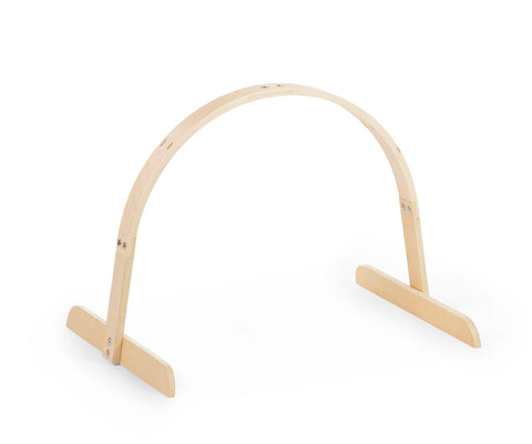 Childhome // Baby Gym Universal Round Wood // Natural