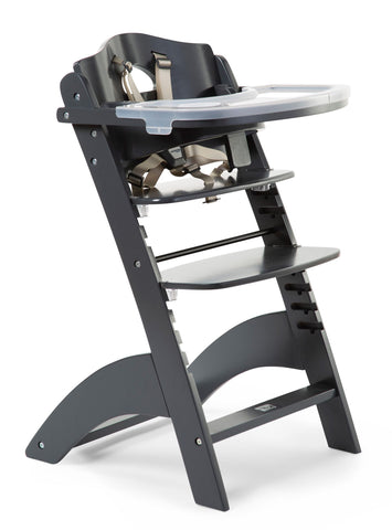 Childhome // Lambda 3 Baby High Chair and Feeding Tray // Anthracite - Baby and the Gang