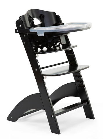 Childhome // Lambda 3 Baby High Chair and Tray // Black - Baby and the Gang