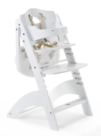 Childhome // LAMBDA 3 BABY HIGH CHAIR + FEEDING TRAY // White - Baby and the Gang