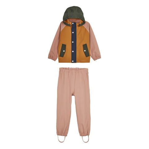 LIEWOOD // Parker Rainwear // Junior - Dark Rose multi mix