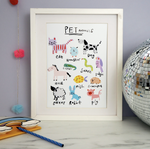 Eleanor Bowmer // Pet Animals Print - Baby and the Gang