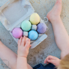 Micador // Egg Chalks 6 Pack - Baby and the Gang