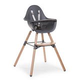 Childhome // EVOLU 2 HIGH CHAIR // NATURAL ANTHRACITE - Baby and the Gang