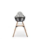 Childhome // EVOLU SEAT CUSHION - TRICOT - PASTEL MOUSE GREY - Baby and the Gang