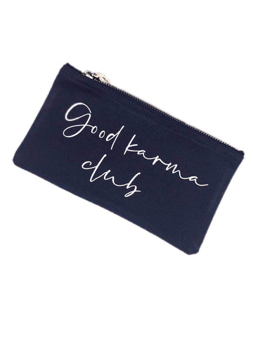 Navy Good Karma Bag - Baby and the Gang