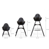 Childhome // EVOLU 2 HIGH CHAIR // Black - Baby and the Gang