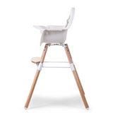 Childhome // EVOLU 2 HIGH CHAIR // NATURAL WHITE - Baby and the Gang