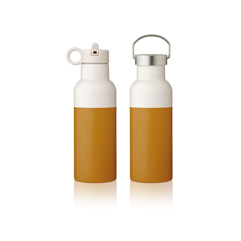 LIEWOOD // Neo Water Bottle - 500ml - Mustard/Sandy Mix - Baby and the Gang