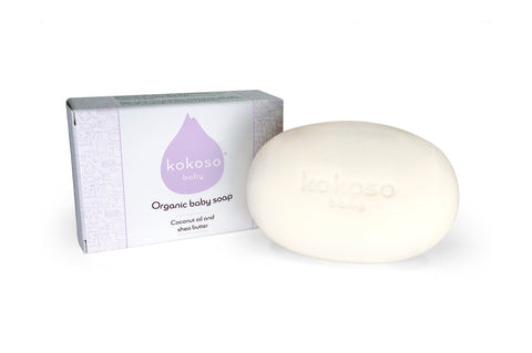 Kokoso Organic Baby Soap - Baby and the Gang