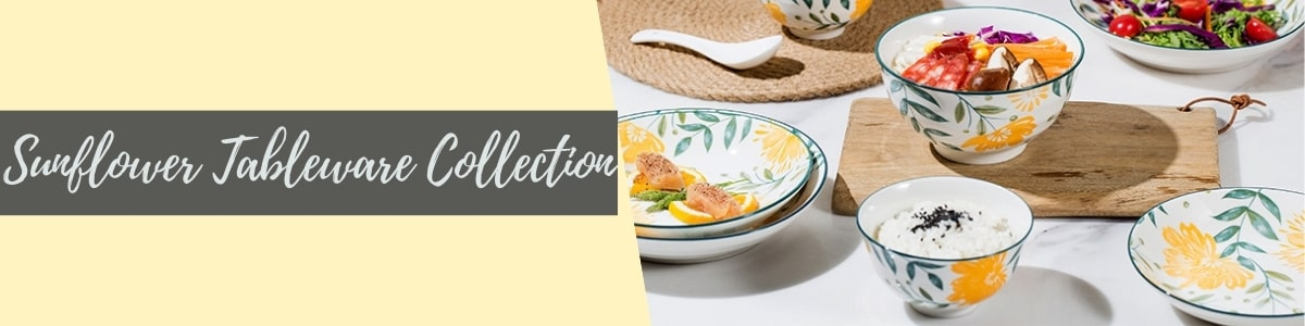 Sunflower Tableware Collection - TAO Choice