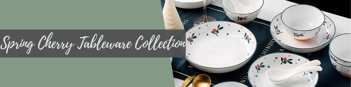 Spring Cherry Tableware Collection (TAO Choice)