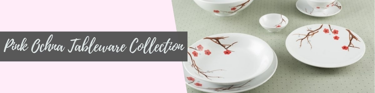Pink Ochna Tableware Collection (Minh Long I)