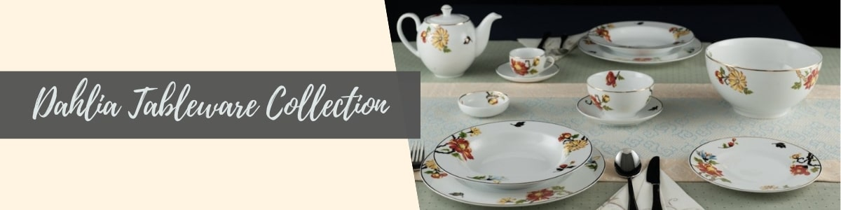 Dahlia Tableware Collection (Minh Long I)