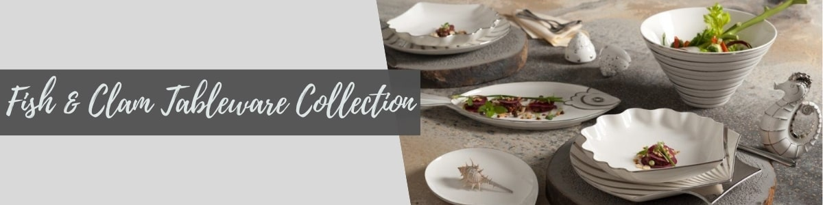 Fish & Clam Tableware Collection (Minh Long I)