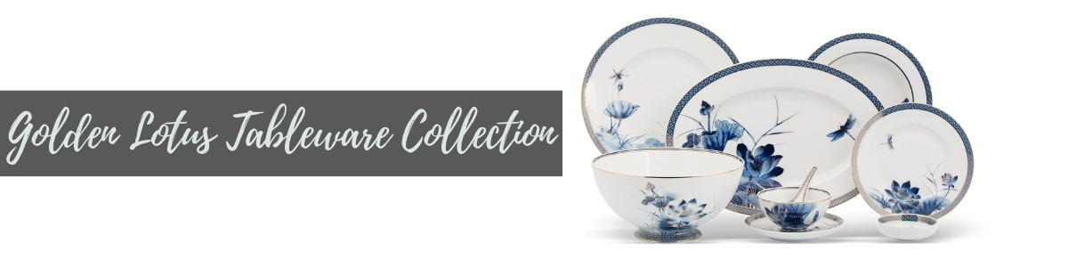 Golden Lotus Tableware Collection (Minh Long I)