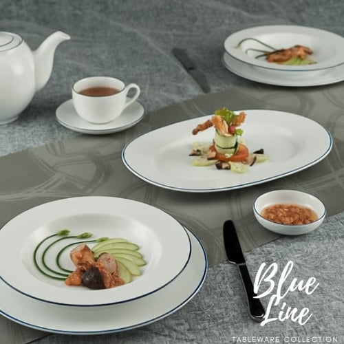 TAO Singapore: Minh Long I - Blue Line Tableware Collection