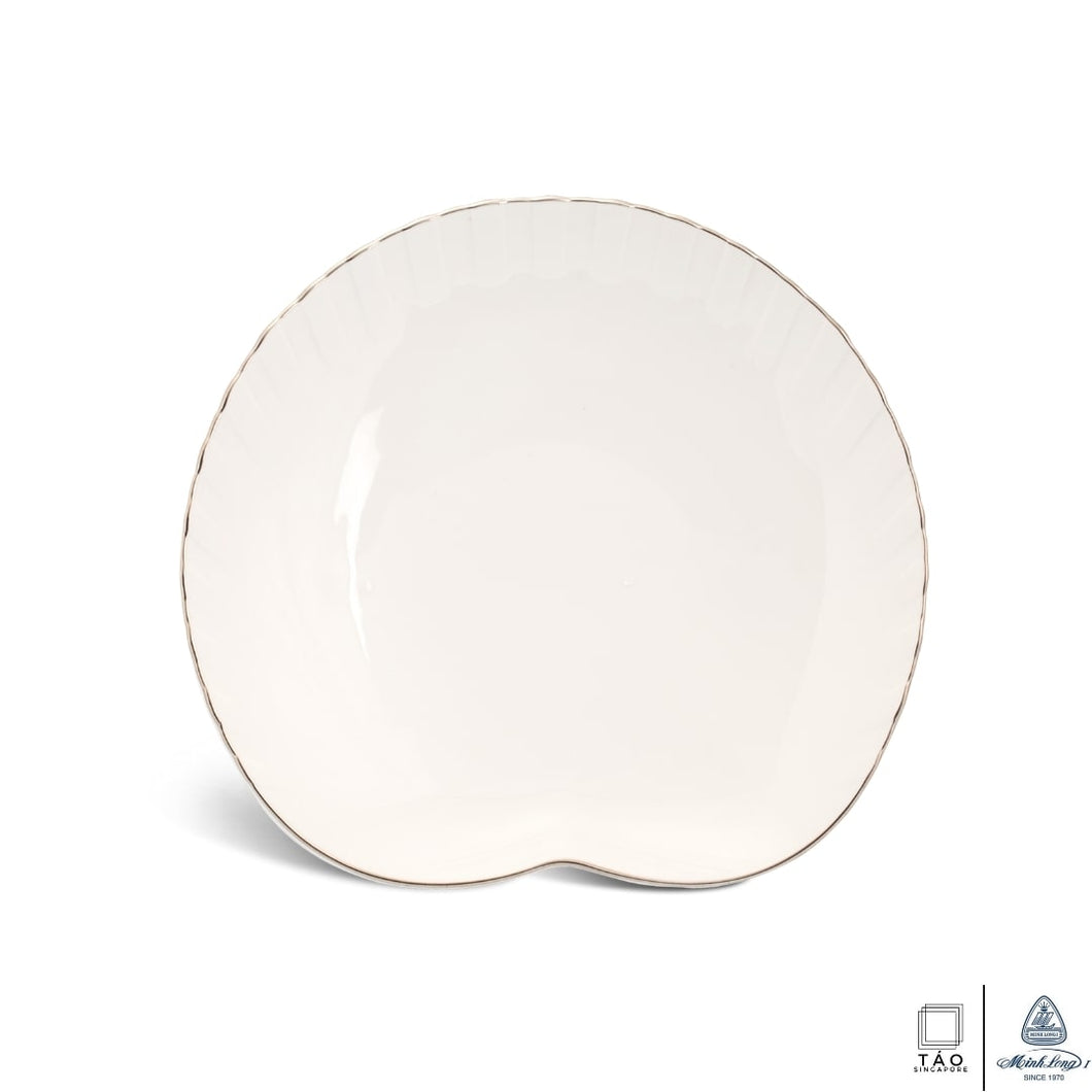 Fish & Clam: Breakfast Plate 20.6cm (Minh Long I)