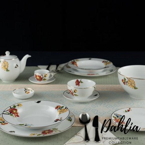 TAO Singapore: Minh Long I - Dahlia Tableware Collection