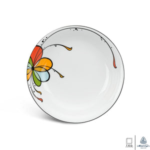 Balloon: Flat Round Plate 22cm (Minh Long I)